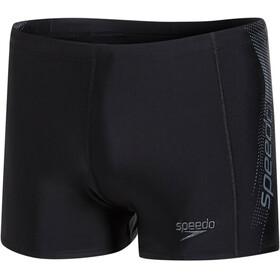speedo Sports Logo Aquashort Men Black/USA Charcoal